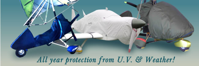 Aircraft cover all year protection